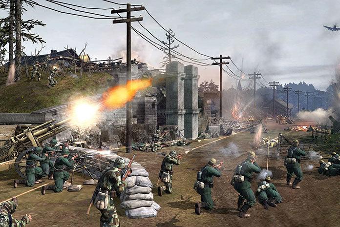 Rozgrywaj kampanie przez sieć w grach wojennych